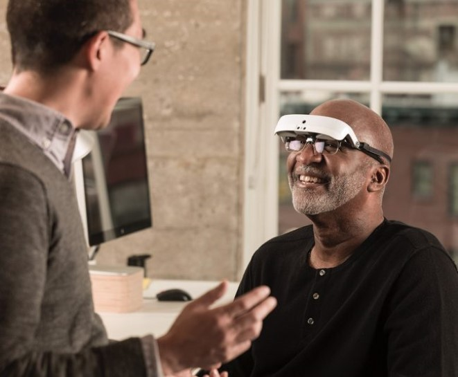 eSight 3 Low Vision Wearable Glasses