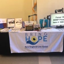 New England Low Vision and Blindness and 2019 Carroll Center Technology Fair Care News