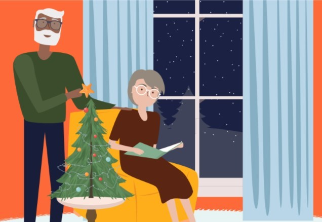 Creating Stress-Free Christmas Traditions with a Visual Impairment Care Macular Degeneration