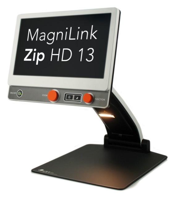 MagniLink Zip HD 13 on computer screen