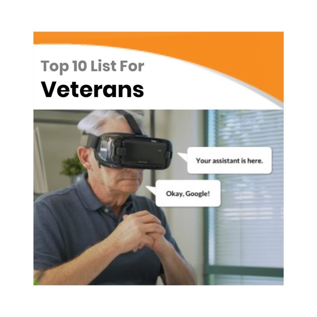 Top 10 Low Vision Products for Veterans - 2020 Technology Top Choices Veterans