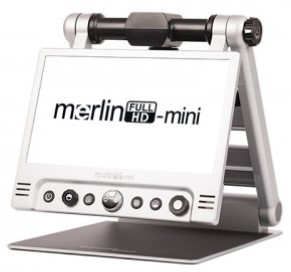 Merlin Mini - Magnified text on screen
