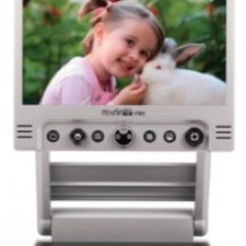Merlin Mini - picture on base magnified on screen