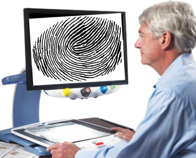 Topaz XL with fingerprint