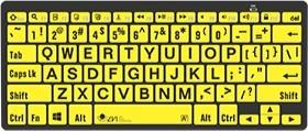 Keyboard-2 White text on black background