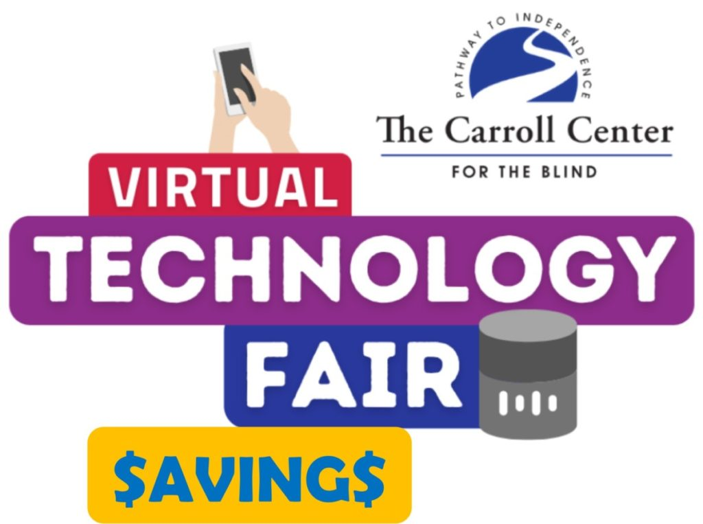Carroll Center Virtual Technology Fair Thank You Incentives Technology Training