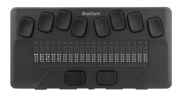 Brailliant BI 20x Front