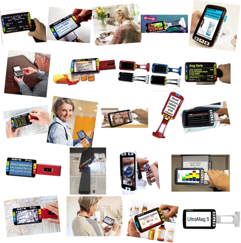 Top Low Vision Handheld Devices (With Handles) Technology Top Choices