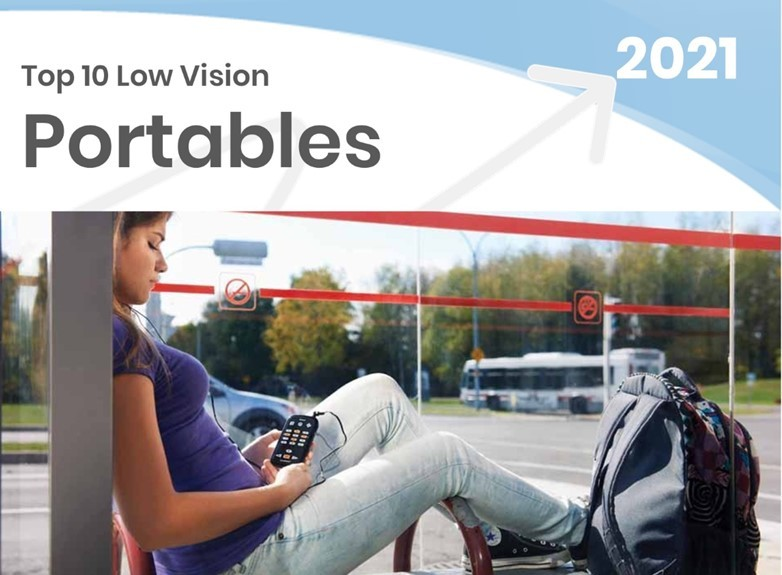 Top Portable Electronic Video Magnifiers - 2021 Technology Top Choices