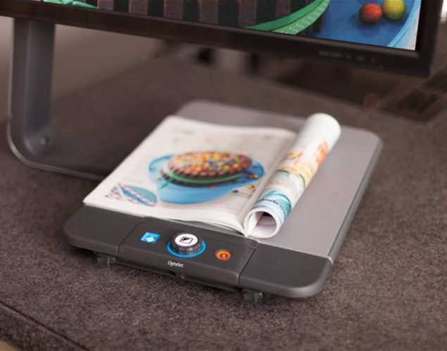 ClearView C Full HD Speech - Magazine on table base