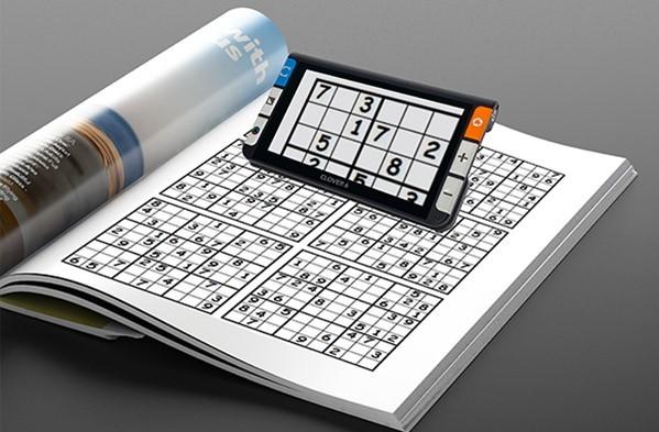 Clover 6 - crossword puzzle on screen