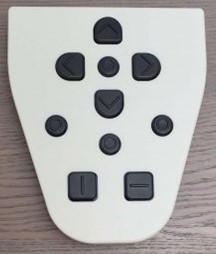 Keypad-front top view