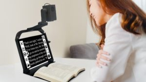 ONYX PRO Portable Low Vision Text-To-Speech Aid
